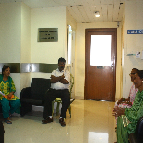 Kidney Center-Waiting Area